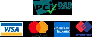 סמלים של כרטיסי אשראי